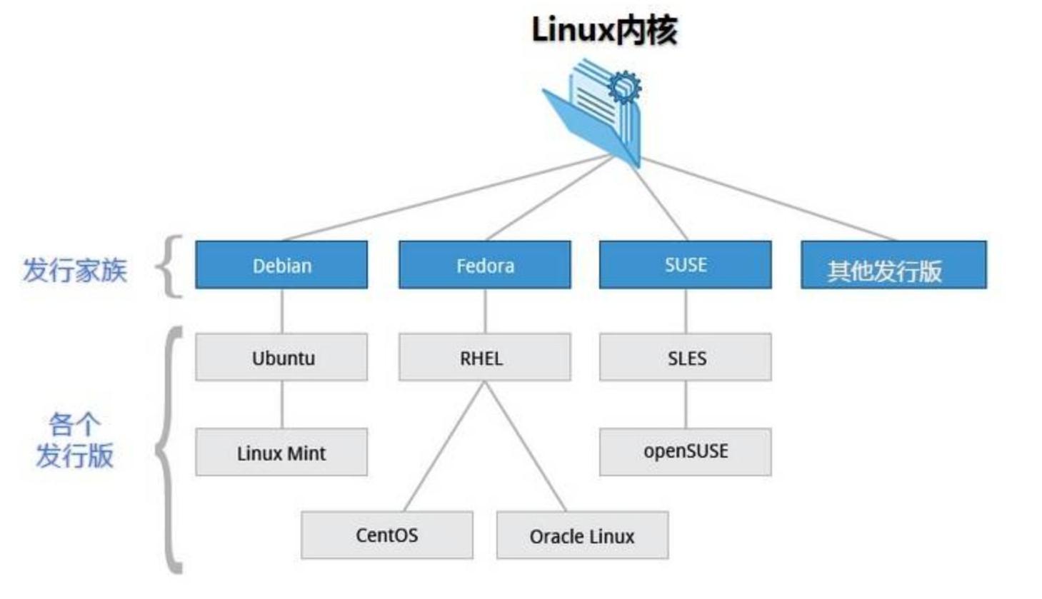 linux内核、发行版